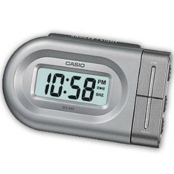 dc7a4bb70d6f Casio Relógio Despertador Wake Up Timer DQ-543-8EF (Prateado ...