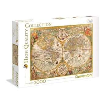 Puzzle Ancient Map