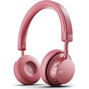 Auscultadores Bluetooth Jays a-Seven - Dusty Rose