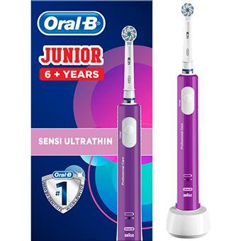 Escova de Dentes Elétrica Oral-B Junior - Violeta