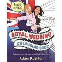Royal wedding colouring book
