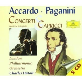 Paganini, Accardo: Concerti & Capricci - 5CD