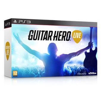 Guitar Hero Live PS3 + Guitarra