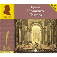 Mozart Vol 26: Idomeneo, Thamos - 6CD