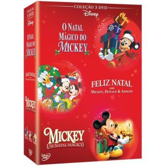 Pack Vermelho Natal Mickey