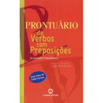 Prontuário de Verbos com Preposições