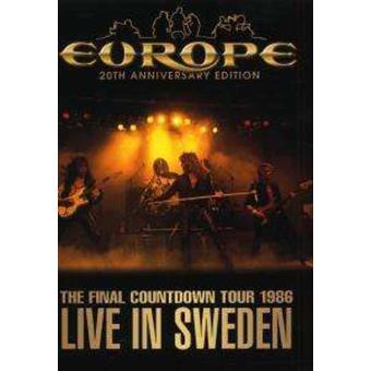 Europe: Live In Sweden (TFCT 1986) (20th Anniversary Edition)