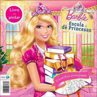 Barbie Escola De Princesas Livro De Pintar Varios Compra