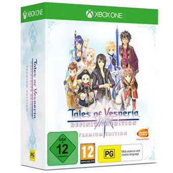 Tales of Vesperia - Definitive Edition - Premium Edition - Xbox One