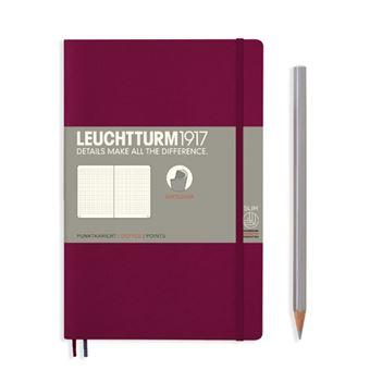 Caderno Pontilhado Leuchtturm B6 - Vermelho