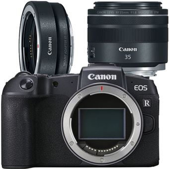 Canon EOS RP + RF 35mm f/1.8 IS Macro STM + Adaptador EF-EOS R