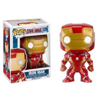 Funko POP Marvel: Captain America Civil War - Iron Man - 126