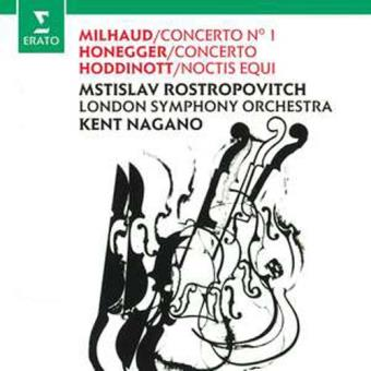 Milhaud & Honneger: Cello Concertos
