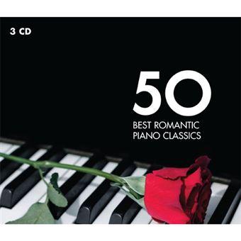 50 Best Romantic Piano Classics - 3CD