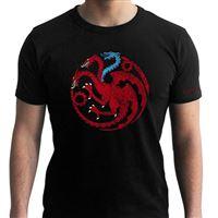 T-Shirt Game of Thrones: Targaryen Viserion - Tamanho L