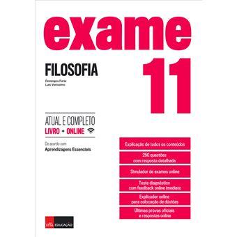 Exame Filosofia 11.º Ano