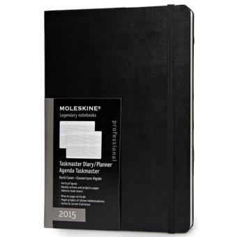 Moleskine: Agenda Semanal Vertical Professional Taskmaster XL 2015