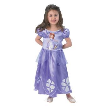 Disfarce Princesa Sofia - Tamanho S 3 a 4 Anos