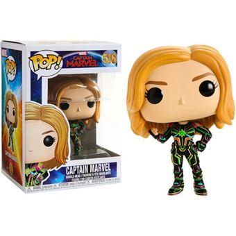 Funko Pop! Captain Marvel Neon Suit - 516