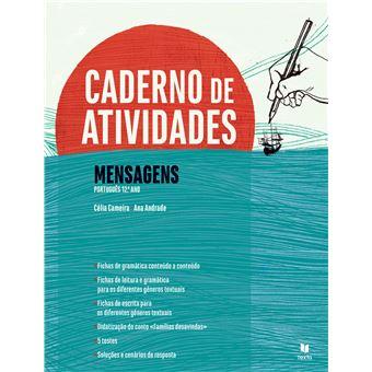 Mensagens Português 12º Ano - Caderno de Atividades