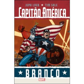 Capitão América - Branco