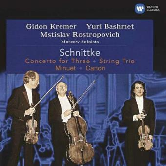 Schnittke: Concerto for Three, String Trio & Minuet