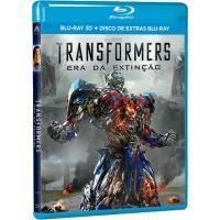 Transformers 4: Era da Extinção (Blu-ray 3D + Disco de Extras)