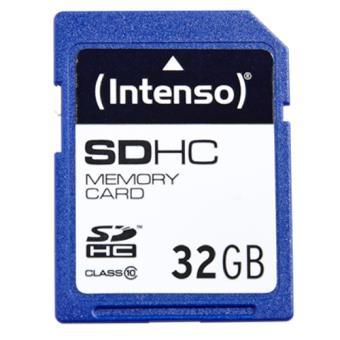 Cartão SDHC Intenso Classe 10 - 32GB