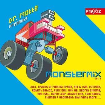 Dr. Motte Presents Monster Mix Vol. 2 (140g) (Limited Edition) (4LP)