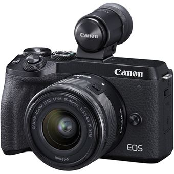 Canon EOS M6 Mark II + EF-M 15-45mm f/3.5-6.3 IS STM + EVF-DC2