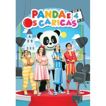 Panda e os Caricas 4 (DVD+CD)