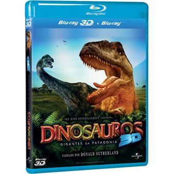 Dinossauros: Gigantes da Patagónia - Blu-ray 3D + 2D