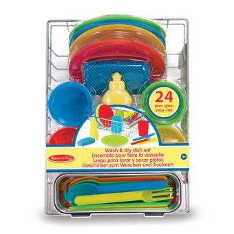 Let's Play House - Wash & Dry Dish Set