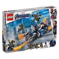 LEGO Marvel Avengers Movie 4 76123 Captain America: Ataque de Outriders