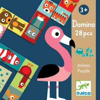 Dominó Animo-puzzle