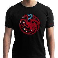 T-Shirt Game of Thrones: Targaryen Viserion - Tamanho M