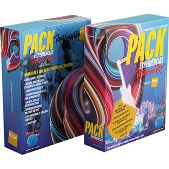 Pack Experiências Rock in Rio powered by FNAC| Preço: 69€ Pack + 5.09€ Custos de Operação