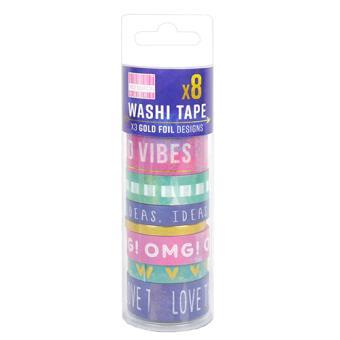 Fita-Cola Decorativa Washi Tape Colour of the Year - 8 Unidades