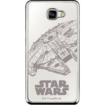 Capa Disney Star Wars para Galaxy A3 2017 - Millennium Falcon