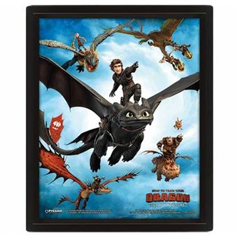 Poster Lenticular How to Train Your Dragon