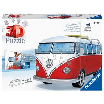 Puzzle 3D Carrinha Wolkswagen - Ravensburger