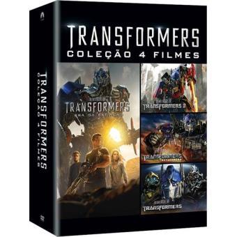 Coleção Transformers - 4 Filmes