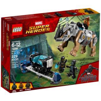 LEGO Marvel Super Heroes 76099 Confronto nas Minas com o Rinoceronte
