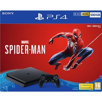 Consola Sony PS4 500GB - Marvel Spider-Man PS4