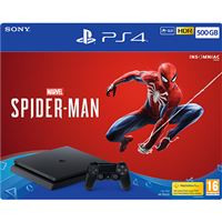 Consola Sony PS4 500GB - Marvel Spider-Man PS4