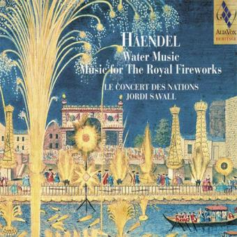 Handel: Water Music Suites - SACD