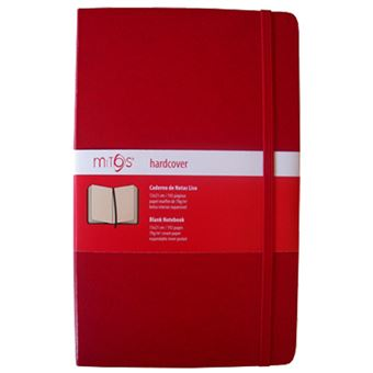 Caderno Liso Mitos A5 Vermelho