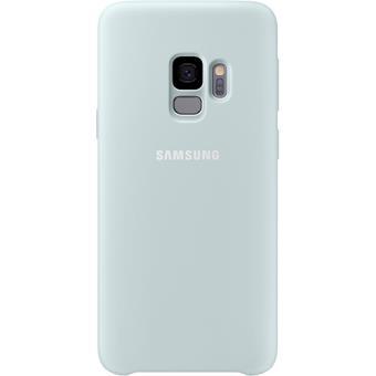 Capa Samsung Silicone para Galaxy S9 - Azul