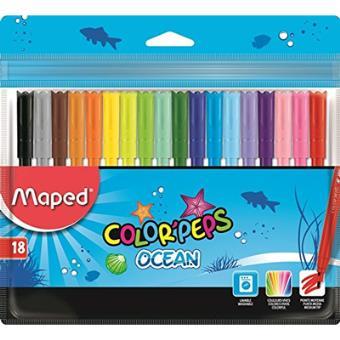 Canetas de Feltro Color Peps Ocean - 18 Unidades