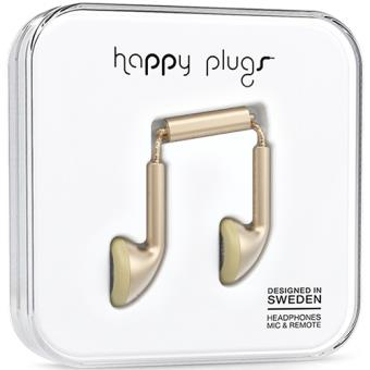 Happy Plugs Auriculares Earbud - Champagne